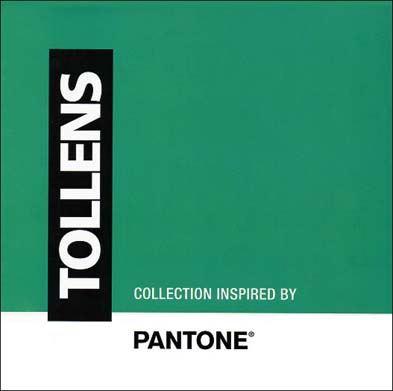 Book de consultation in situ Collection inspired by Pantone, Tollens