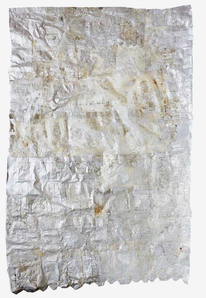 Voile de sirène Emballages Tetra Pak, composition souple, 105 cm x 170 cm, 2014